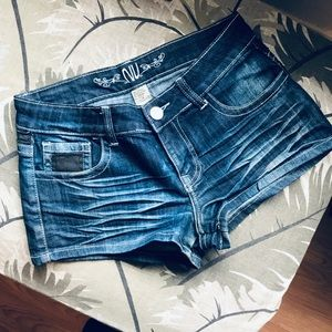 Pants - Dark Wash Shorts